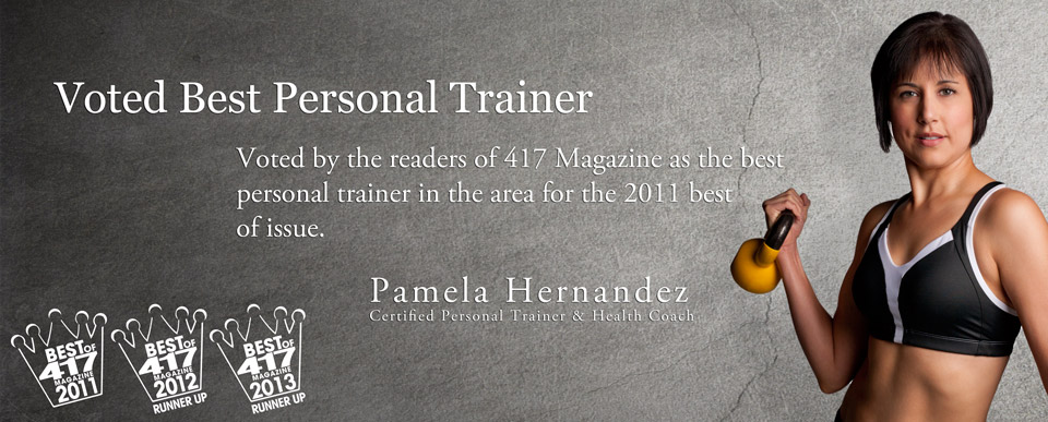 Voted by the readers of 417 Magazine as the best Personal Trainer in Springfield, MO for the 2011 best of issue.