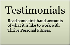 What our Personal Training Clients Say