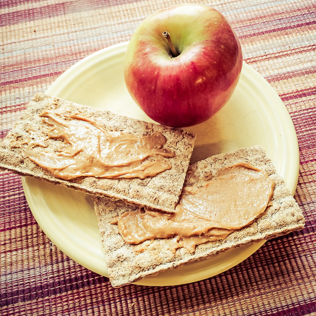 WASA Peanut Butter and an Apple Snack