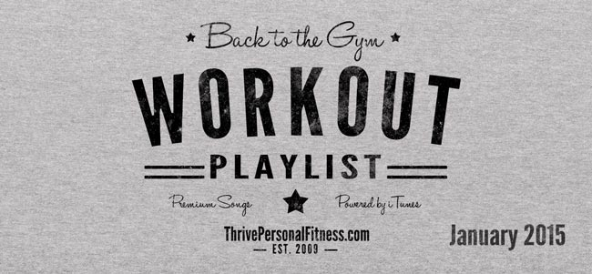 Back to the Gym Workout Playlist