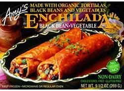 Amy's Organics Enchiladas and Chili
