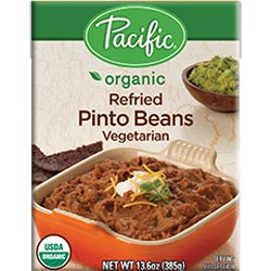 Pacific Foods Organic Refried Beans – Vegetarian