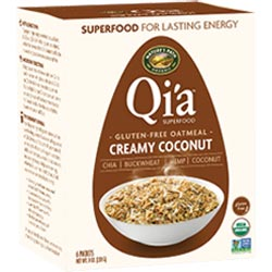 Qi'a Superfood Creamy Coconut Oatmeal