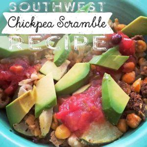 Southwest Chickpea Scramble Recipe