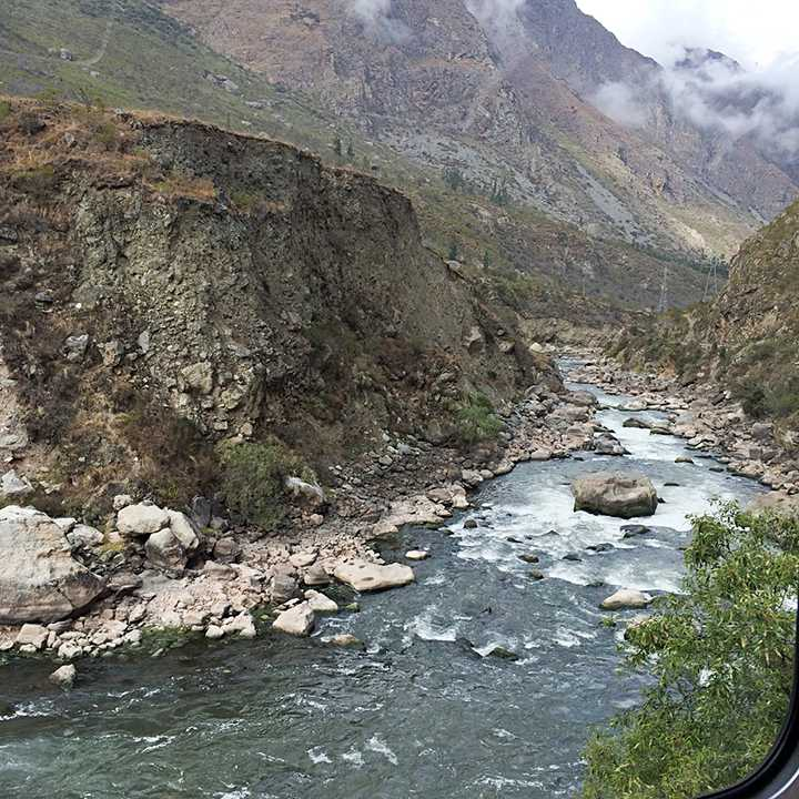 View on the PeruRail Train to Machu Picchu
