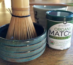 Matcha and matcha bowl