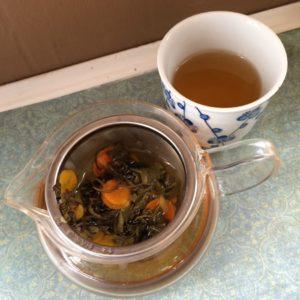 Jasmine turmeric tea