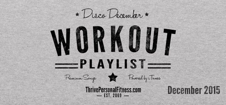 No Jingle Bells in the Gym! – Disco December Workout Playlist