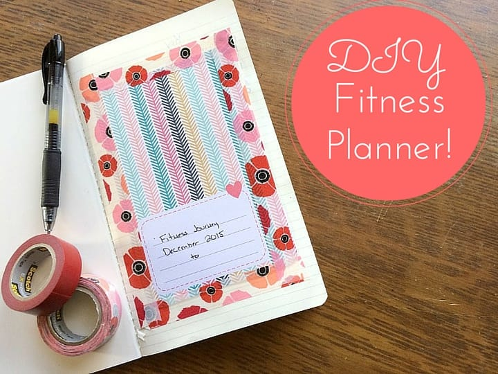 DIY Fitness Planner