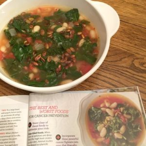 Triple Greens and White Bean Soup