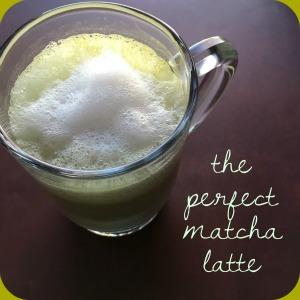 Make the Perfect Matcha Latte