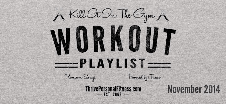 The Perfect Workout Playlist To Kill It In The Gym!