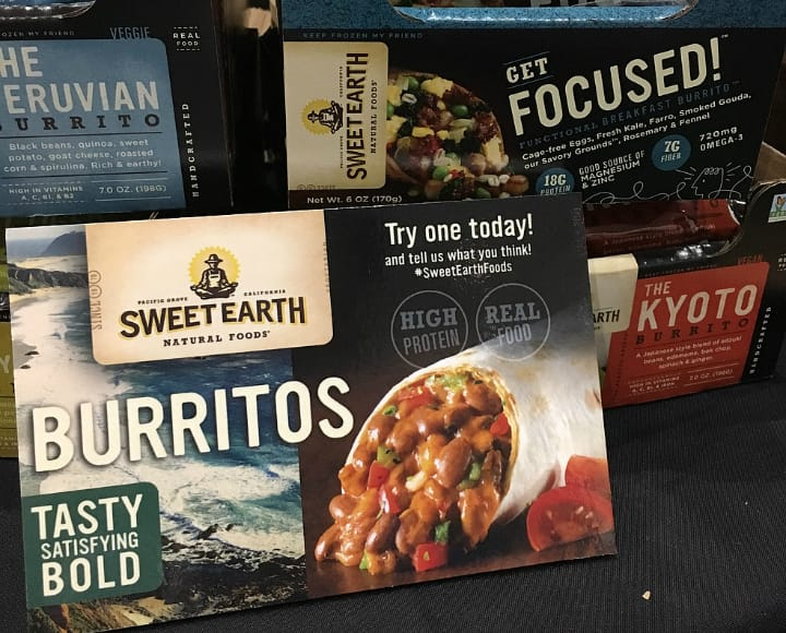 Sweet Earth Burrito