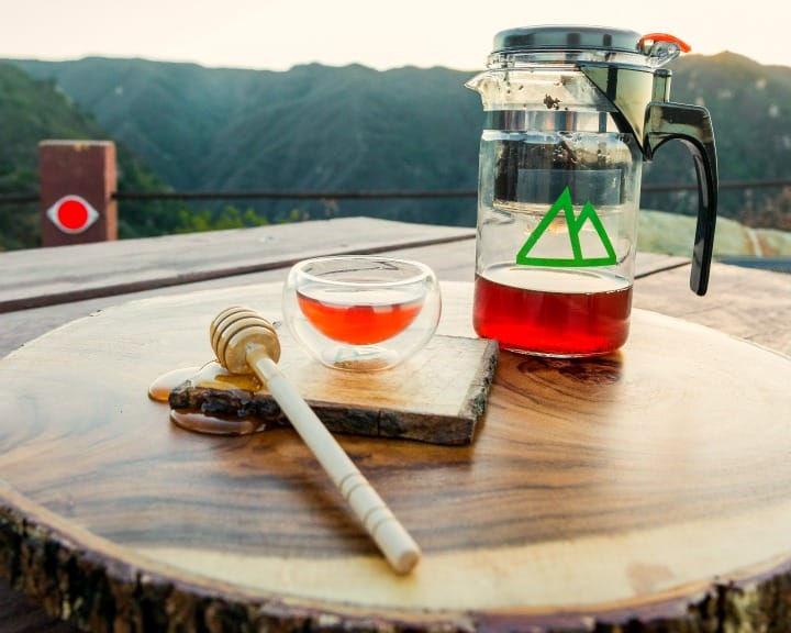 Misty Peak Teapot