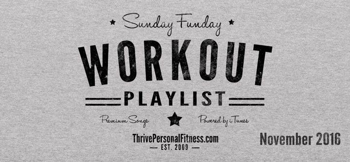 Sunday Funday Workout Playlist