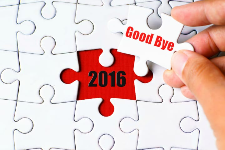 2016 is gone
