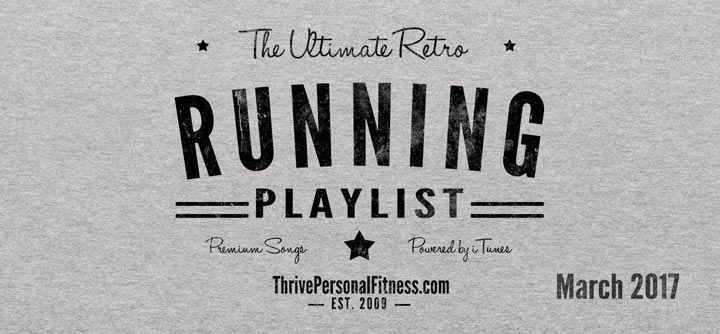 The Ultimate Retro Running Playlist