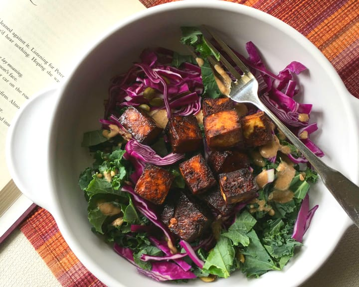 vegan delicious summer salad
