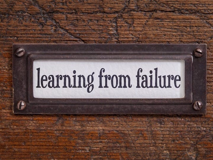 failure lessons