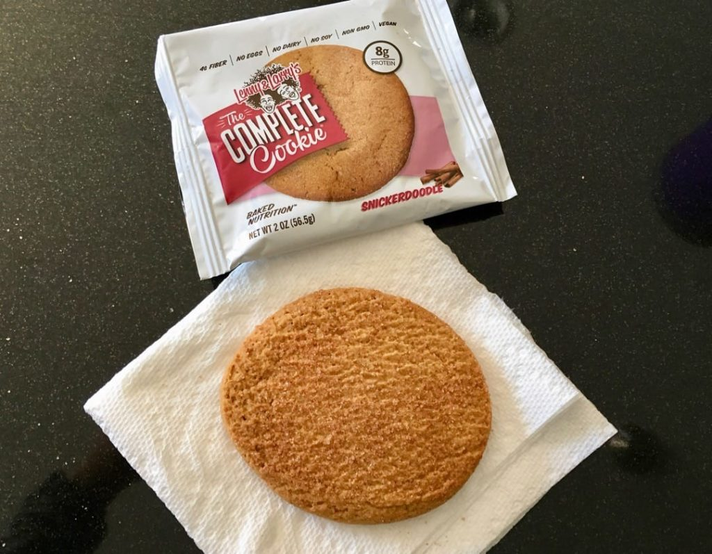 lenny & larry's protein cookie
