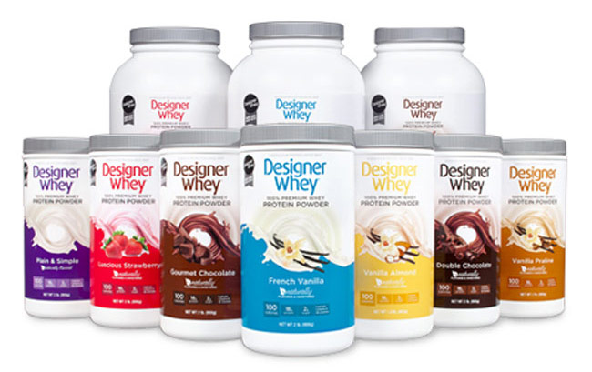 Designer Whey Protein Powder - Personal Trainer Approved!