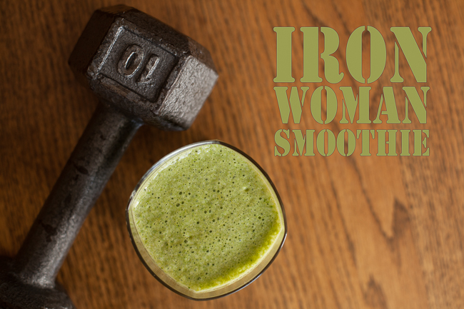 Iron Woman Smoothie Recipe
