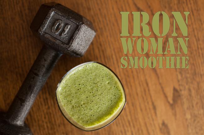 Iron Woman Smoothie Recipe