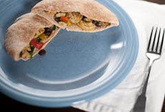 Seitan Fajita Pockets Recipe